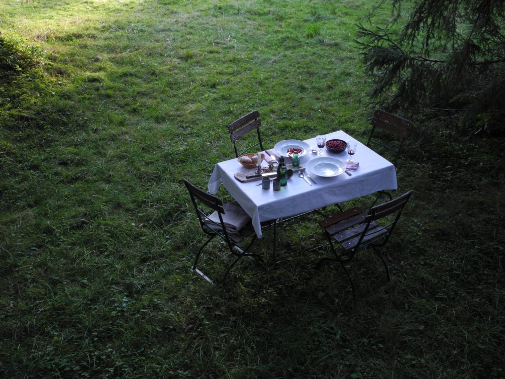 Der weisse Tisch