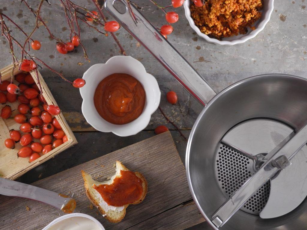 Zubereitung Hagebutten Marmelade